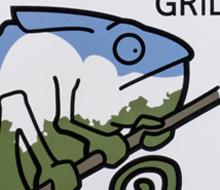 Arboreal Grill screen print
