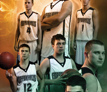 Basketball roster cover