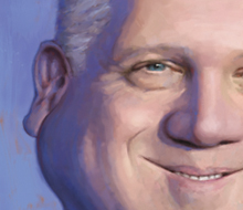 Glenn Beck caricature