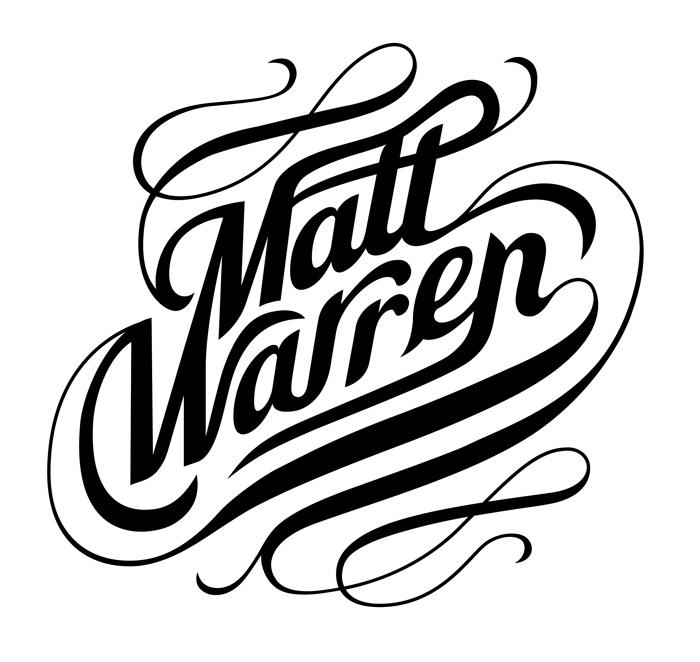 Custom typography « Matt Warren Graphic Design