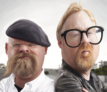 Mythbusters caricature