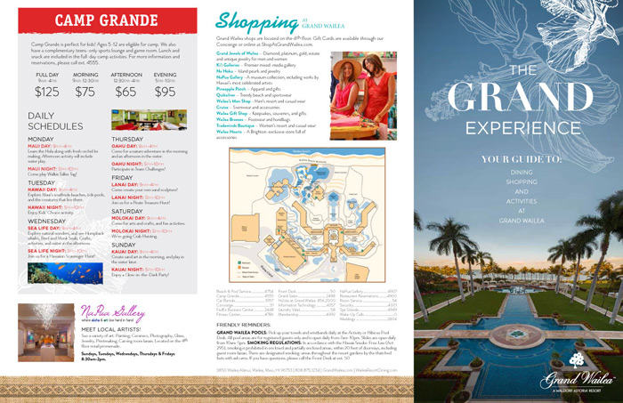 Brochure (Grand Wailea)