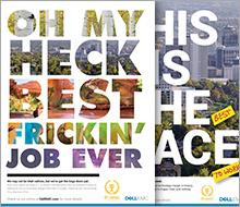 Dell/EMC print ads