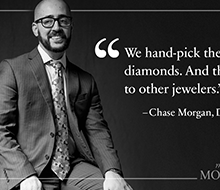 """Meet the Morgans"" social posts (for Morgan Jewelers)"